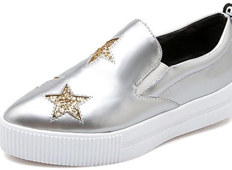 ZQ Zapatos de mujer - Plataforma - Plataforma / Creepers - Mocasines / Sin Cordones - Exterior / Oficina y Trabajo...