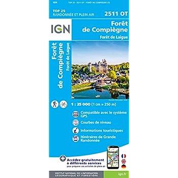 2511OT FORETS DE COMPIEGNE ET DE LAIGUE