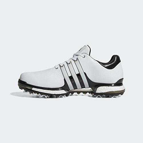 adidas Herren Tour 360 Boost 2.0 Golfschuhe, Weiß (Blanco/Negro Q44939), 44 EU