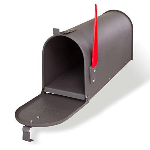 DEMA American Mailbox aus Stahl, Anthrazit - 2