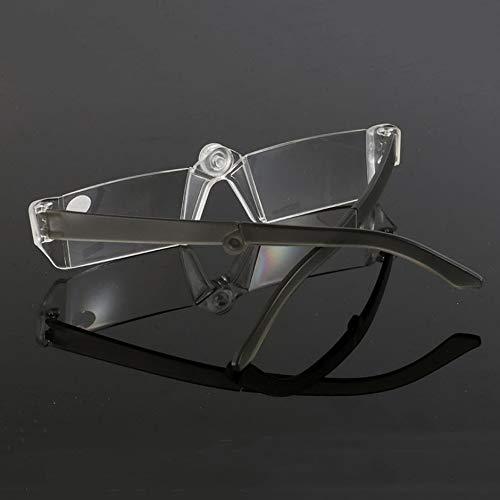 WEINANA Rahmenlose Faltbare tragbare Unisex-Lesebrille Stilvolle Flexible Presbyopiebrille + 100, 150, 200, 250, 300, 350