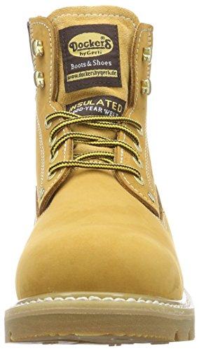 Dockers by Gerli 23da005-400460, Oxford Homme Jaune (Golden Tan)