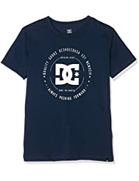 DC Shoes Rebuilt 2 SS - Camiseta para niño, color azul, talla S