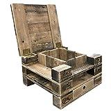 Palettenmöbel Couchtisch, Beistelltisch Orlando-Two aus zertifiziertem Palettenholz, jedes Teil ist einzigartig und Wird in Deutschland in Handarbeit gefertigt