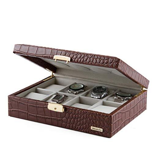 Acht box/holz uhr display box/schmuck aufbewahrungsbox, premium geschenkbox, 27 * 25 * 8 cm - Holz-uhr-schmuck-box