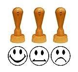 Stempel Motivstempel « LEHRERSTEMPEL - Set SMILEY » Lehrer, Schule
