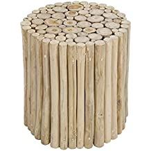 Taburete troncos