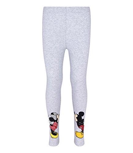 Disney 4735, leggings bambina, gris foncé, 6 anni