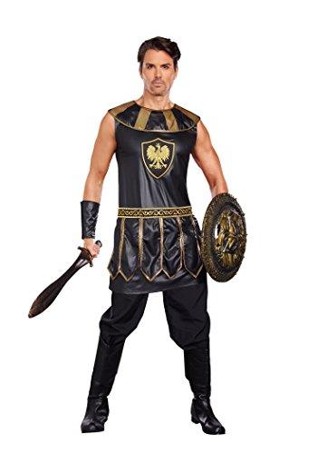 Dreamgirl 10274Deadly Warrior männlich Kostüm (groß)