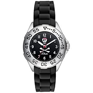 s.Oliver Jungen-Armbanduhr Analog Quarz Plastik SO-2832-PQ