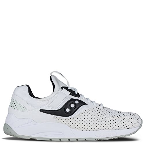 Sneaker Saucony Grid 9000 Bianco bianco con pois