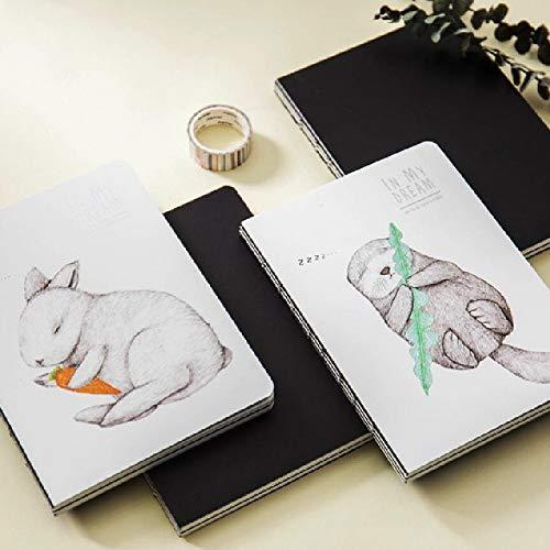 Ausverkauf Cute Kawaii Tier Notizbücher A5 A Little Sleep Schulheft persönliches Tagebuch Agenda 32K Notizbuch