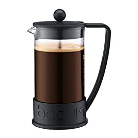 BODUM Brazil 3 Cup French Press Coffee Maker, Off White, 0.35 l, 12 oz