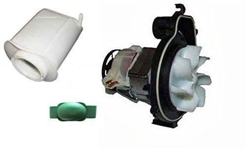 Vorwerk folletto vk 121 122 motore certificato ce + filtro silenziatore + gommin