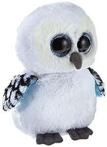 TY 7136078 - Spells - Schneeeule weiß, 15 cm, Beanie Boos, Glubschis