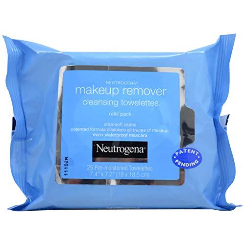 Neutrogena Make-Up-Entferner Reinigung Towelettes Refills 25 Stück (Packung mit 8)