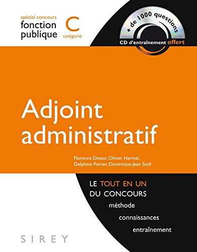 Adjoint administratif - catgorie C - 1re dition