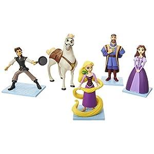 Glop Games- Rapunzel Set de Figuras (Jakks Pacific 2.0)