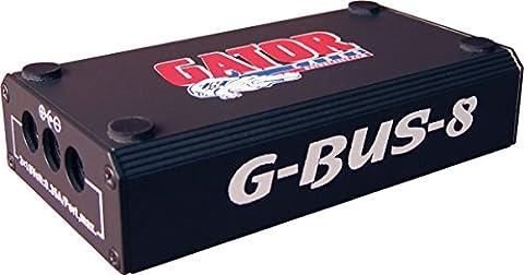 Gator Deluxe HGA G-BUS-8-CE Source d'alimentation pour Guitare 17 A