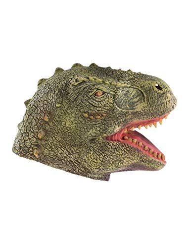 (TrendClub100® Latex Tier Maske - Dinosaurier Dinosaur Dino)