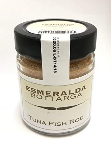 Bottarga Esmeralda Tonno grattugiato dalla Sardegna 70 g in vasetto - Caviale del Mediterraneo - kosher