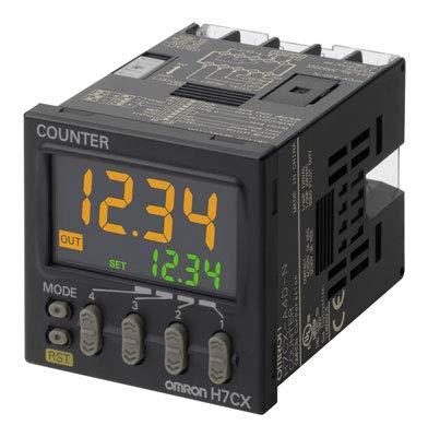 H7CX-AN   668633   OMRON COUNTER, PLUG-IN, SCHRAUBANSCHLUSS, 1 / 16DIN (48 x 48MM), IP66, 6 PRESET- und 6 IST-ZÄHLER, Omron Plug-in