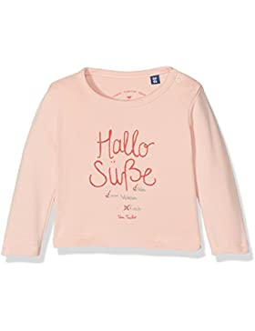 TOM TAILOR Baby-Mädchen Slogan Print Langarmshirt