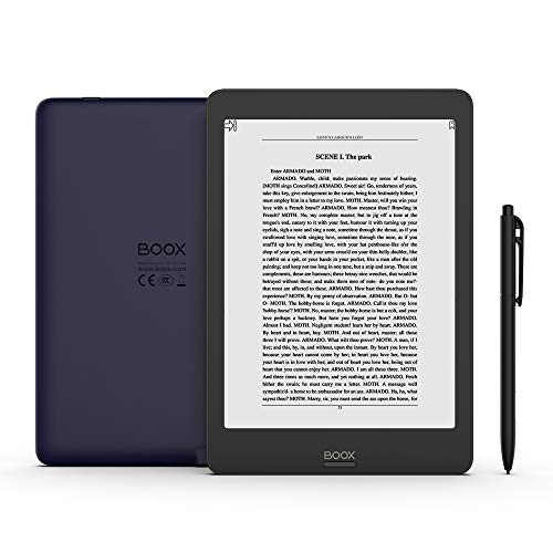 BOOX Nova Pro 7.8 Zoll eReader, Integriertes Licht Dual-Touch, 2GB+32GB, Android 6.0, WLAN, Dunkelblau