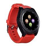 Btruely Smartwatch Bluetooth,Impermeable Reloj Inteligente Nuevo z3 bluetooth3.0 Smart Watch Compatible con cámara sim y tfcard Pulsera Inteligente para Android iOS iPhone Samsung Sony