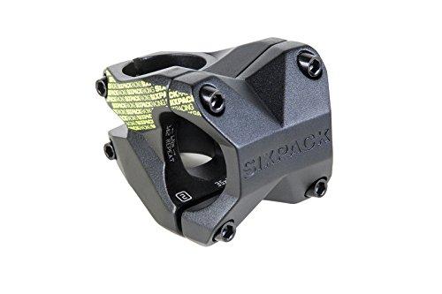 Sixpack-Racing Menace Vorbau, schwarz(Stealth-Black / Neon-Gelb),35mm