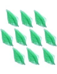 Hoerev ,Green,10 pièces de couleur unique, de la danse et des foulards de jonglerie.60cmx60cm