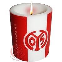 1. FSV MAINZ 05 Windlichtkerze / Kerze / Candle