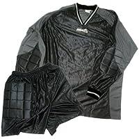 all4you-sportswear Camiseta de Portero con pantalón Corto, Antracita, tamaño XS (152/164)