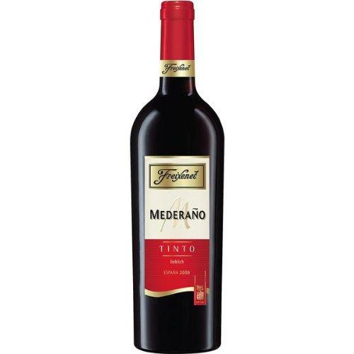 6 Flaschen Freixenet Mederano Tinto lieblich Cuvée rot a 0,75l Cuvee