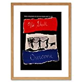 9x7 '' AD CIVIL RIGHTS AFRICAN AMERICAN MARCH FRAMED ART PRINT F97X932