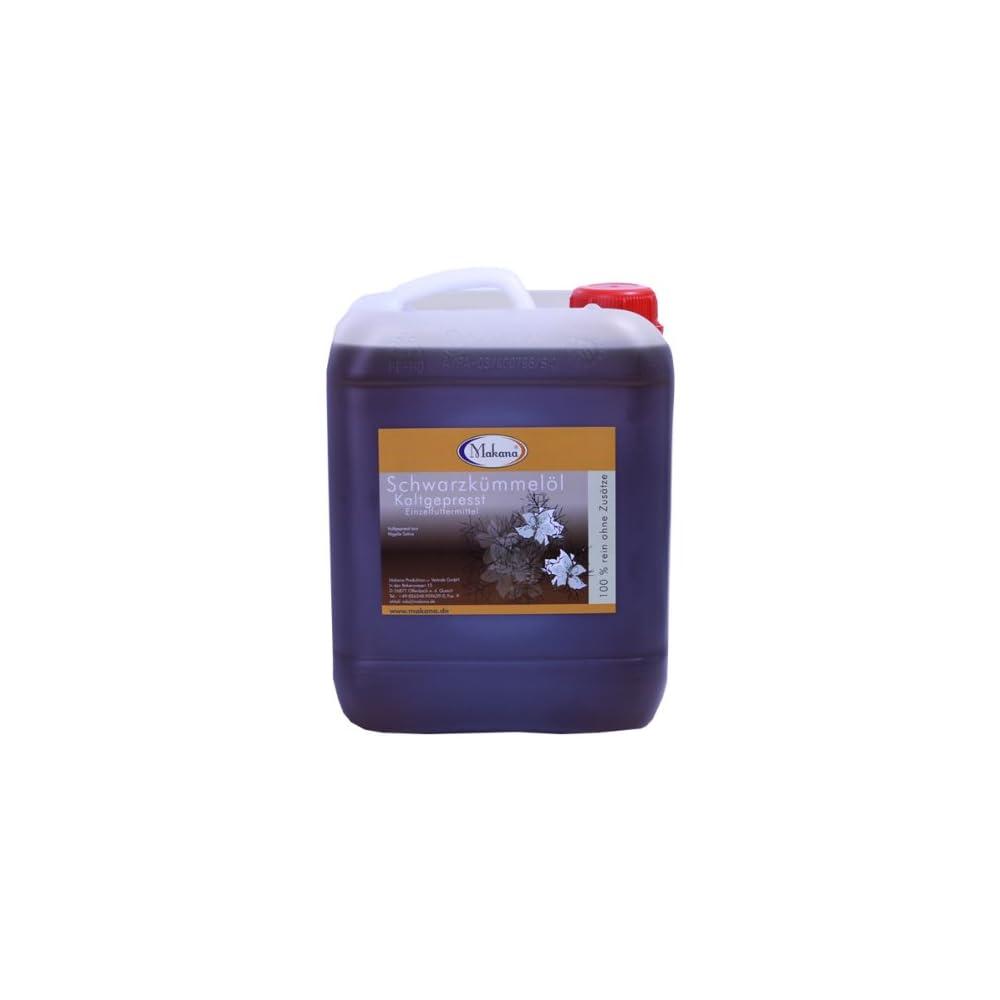Makana Schwarzkmmell Fr Tiere Kaltgepresst 5 Liter Kanister 1er Pack 1 X 5 L