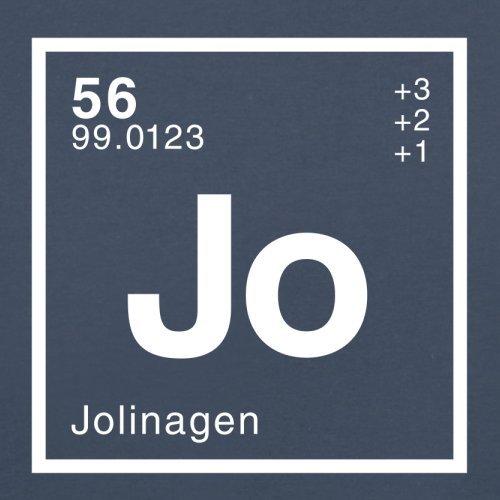 Jolina Periodensystem - Herren T-Shirt - 13 Farben Navy