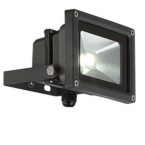 Lampe extérieur DEL 10W luminaire éclairage jardin changeur des couleurs télécommande Globo 34118