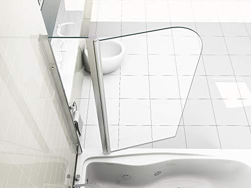 HNNHOME 180° Pivote Panel Doble más baño Ducha