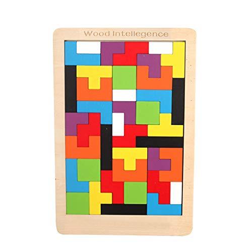 KBstore Holz Geduldspiel - Denkspiele Knobelspiel - Rätsel Holzpuzzle Holzspiele - Logisches Spielzeug und Geschenk für Kinder und Erwachsene #1