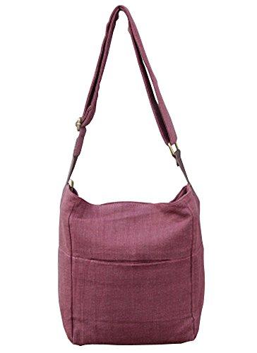 Leinentasche Einkaufstasche Umhängetasche Duffel Bag Reisetasche Mehrfarbig 07