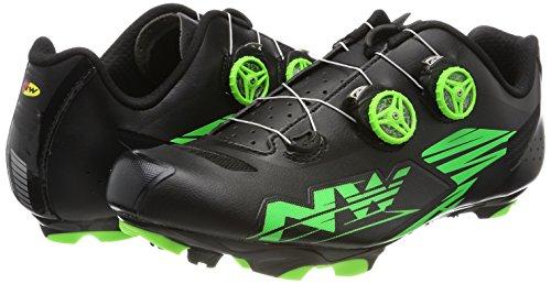 Scarpe Northwave Bici Fiammata Verde Nero Da Più 8xEgxP