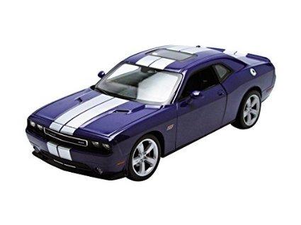 welly-we4049-dodge-challenger-srt-2013-purple-124-modellino-die-cast-model