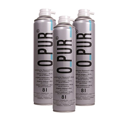 O PUR Sauerstoff Dose f.Maske Spray 24 l Spray