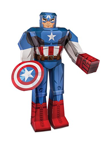 Zoofy International 12 Captain America PDQ Action Figure by Zoofy International