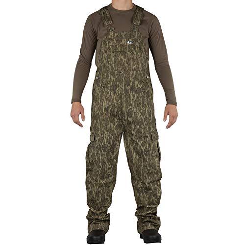 Spandex-stretch-bib (Mossy Oak Herren Jagd-Lätzchen aus Baumwolle Mill 2.0, Herren, Mo Cotton Mill 2.0 Hunt Bib, Bottomland, XX-Large)