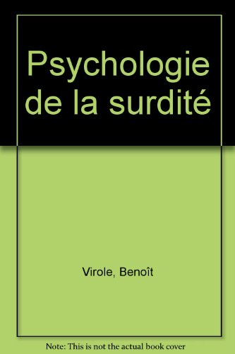 Psychologie de la surdité