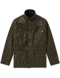 Barbour International Steve Mcqueen Joshua Wax Jacket Archive Olive-M
