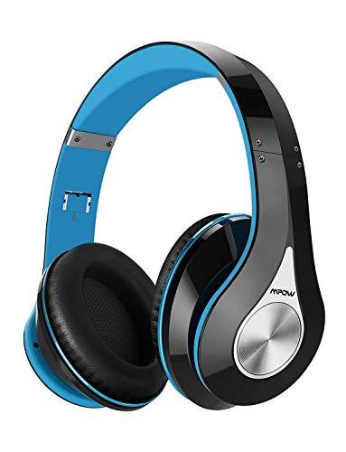 Mpow Bluetooth Kopfhörer over Ear, [Bis zu 20 Std] Hi-Fi Stereo mit Dual 40mm Treiber, CVC 6.0 Noise Canceling für Integriertem Mikrofon Freisprechen thumbnail