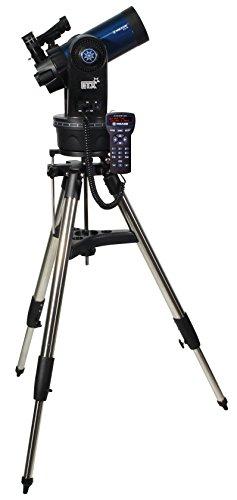 Meade Instrumente ETX90Observer tragbar Computergestütztes Teleskop mit Hard Case Tragetasche–Blau Metallic